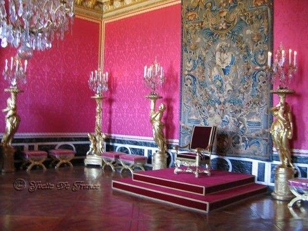 Chateaux francais versailles page 17 - Salle du trone versailles ...